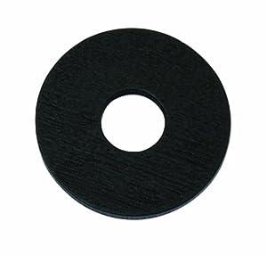 Sunset blvd ring aufsatz holzscheibe rund schwarz 25 for Holzscheibe rund