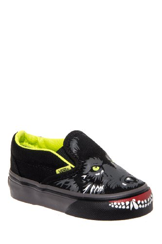 Vans Toddlers' Classic Slip On Wolf Sneaker