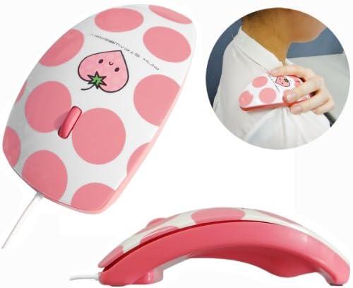 リラクゼーション用バイブレーション機能付きマウス マウスフィット mousefit Pink ピンク