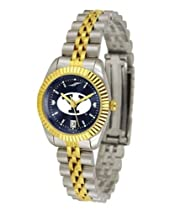 BYU Brigham Young University Ladies Gold Dress Watch