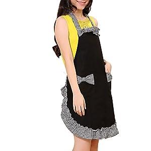 Elevin(TM) New Fashion Womens Cooking Kitchen Bib Apron Dress with Pocket