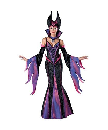 Evil Delight Maleficent Womens Disney Sleeping Beauty Witch Costume