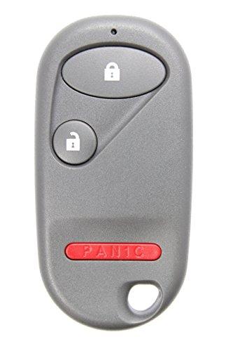 Honda 3 Button Keyless Entry Remote (NHVWB1U521 or NHVWB1U523 - INTERCHANGEABLE) Key Fob Clicker 2001 2002 2003 Civic EX (Honda Civic Lx Parts compare prices)