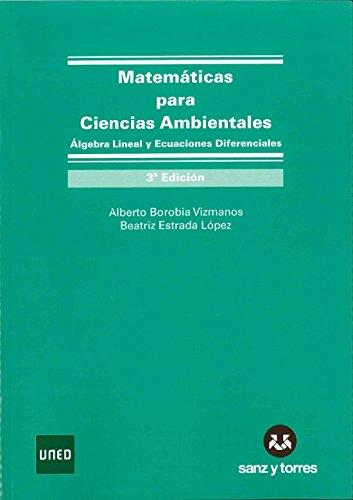 MATEMATICAS PARA CIENCIAS AMBIENTALES