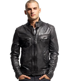 A well-cut leather jacket, classic denim Western and some outdoor options, along with a couple of formal blazers cover all the styling needs when it comes to men's jackets. Heavy-duty waterproof jackets are rugged enough for mountain hikes while lightweight designs will keep you cool during those morning runs.