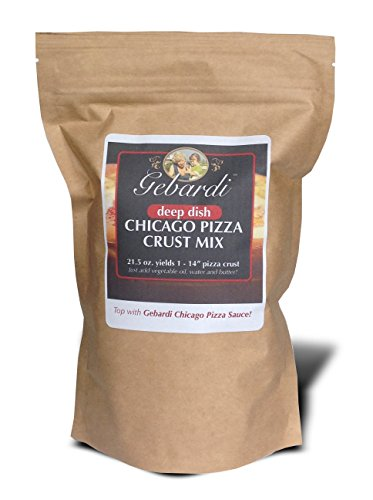 Gebardi Deep Dish Chicago Pizza Crust Mix (Chicago Style Deep Dish Pizza compare prices)