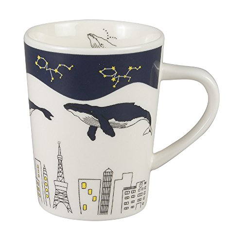 Magutto Drinking dream whale Mug MG7978