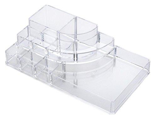 Choice Fun 3 Strati Acrilico Trucco Organizzatore Bathroom Vanity Tray, Large Size