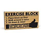 BigMouth Inc Exercise Block Toy