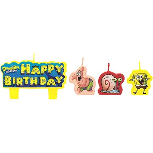 Spongebob Molded Candles - 1