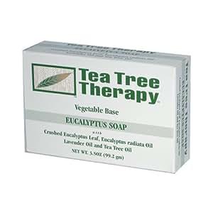Tea Tree Soap, Eucalyptus , 3.5 oz ( Multi-Pack)