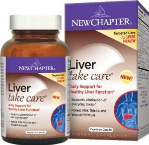 New Chapter Liver Take Care 30 Vegetarian Capsule (2 Pack)