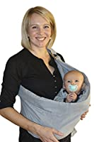 Baby Sling Wrap Carrier for newborns, perfect child carriers for a parent! by BabyWombWorld