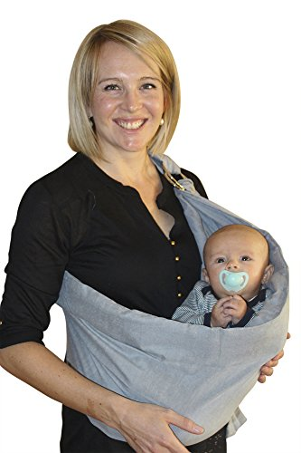 Check Out This Baby Sling Wrap Carrier for newborns, perfect child carriers for a parent!