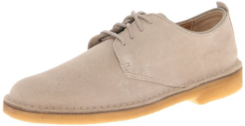 Clarks Men's Desert London Oxford,Sand Suede,10 M US