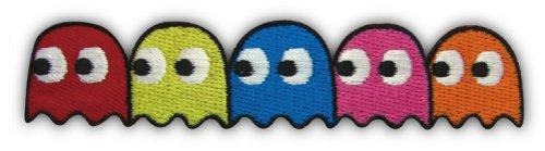 アイロンワッペン【Pacman Monsters】 パックマンモンスター ロゴワッペン