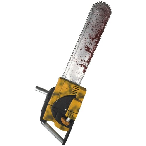 Deluxe Leatherface 27 inch Chainsaw Costume Accessory
