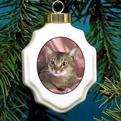 Christmas Ornament: Abyssinian