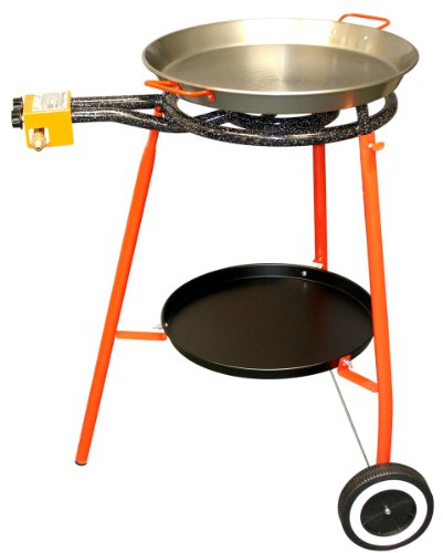 Burner, Tripod & 16 1/2 inch Pan Set