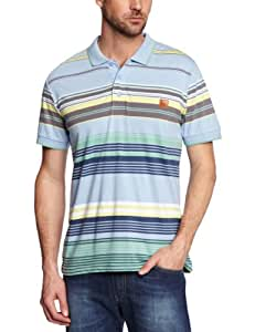 Bench Herren Polo Shirt Shanker, powder blue, S, BMGA2952_BL133