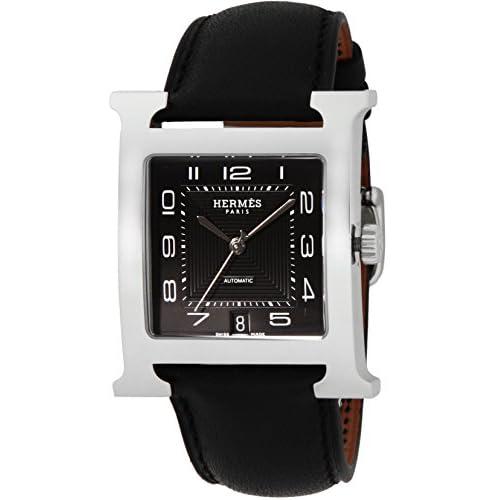 [エルメス]HERMES 腕時計 Hウォッチ ブラック文字盤 自動巻 デイト HH2.810.330.VBN3 メンズ 【並行輸入品】
