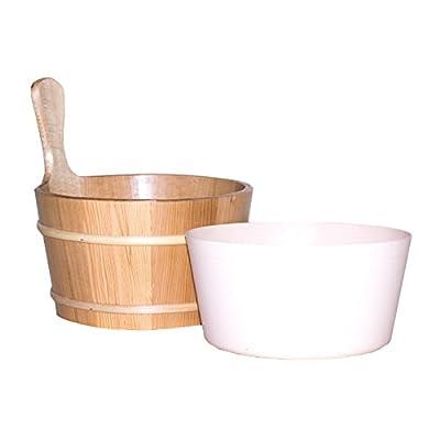 Saunazubehör Aufgusskübel & Kunststoffeinsatz von Demmelhuber auf Gartenmöbel von Du und Dein Garten