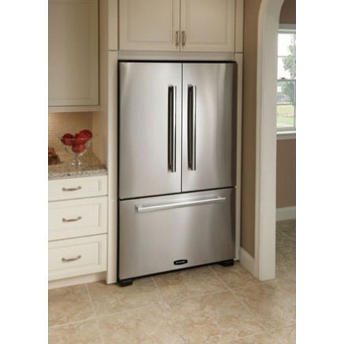 Ft. Counter Depth French Door Refrigerator - Cranberry - Pro+ Series
