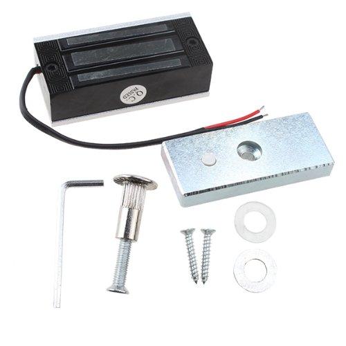 Agptek® 60 Kg Holding Force Electric Magnetic Lock For Door Access Control System (Electromagnet Fail-Safe Nc Mode)