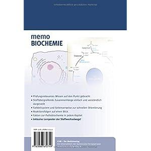 Memo Biochemie (Inkl. Lernposter der Stoffwechselwege)