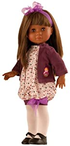 """Amazon.com: Paola Reina Soy Tu Amor 17"""" African American Doll (Made in"""