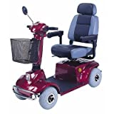 Mid - Range 4 Wheel Scooter Color: Silver