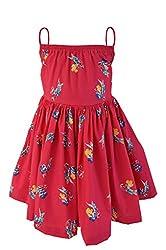 Faye Parrot Print Fuchsia Dress 2-3Y