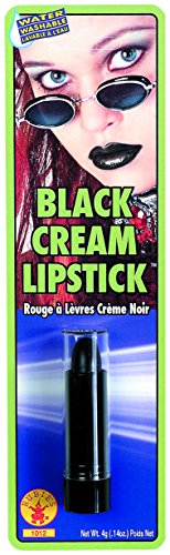 Rubie's Costume Co Women's Cream Lipstick, Black, One Size
