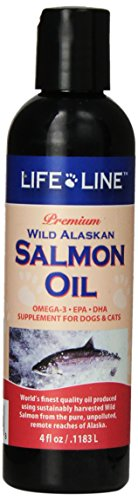 Life Line Wild Alaskan Salmon Oil For Dogs And Cats, 4-Ounce