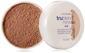 CoverGirl Trublend Minerals Loose Powder,  Translucent Light 410,  0.63-Ounce