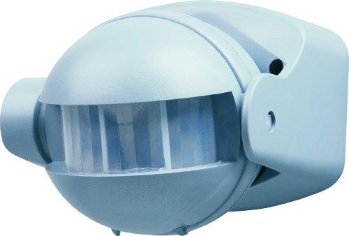 Elro ES34A Automatischer Bewegungsmelder für Glüh- und Halogenlampen (1200 W/500 W) / Erfassungsbereich 180° x 12 m