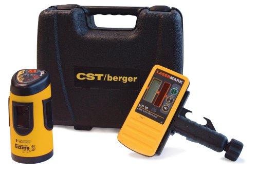 CST/berger 58-GIZLT-3E Indoor/Outdoor GizmoLite-3 with Pulsing Beam Cross Line Laser with Detector