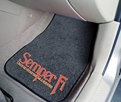 MARINES Carpeted Car Mats