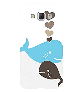 Clipart Fish 3D Hard Polycarbonate Designer Back Case Cover for Samsung Galaxy Grand Max G720
