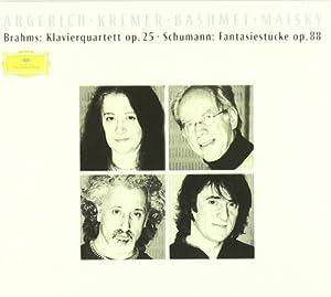 Brahms - Quatuor avec piano op.25 / Schumann - Fantasiestücke op.88