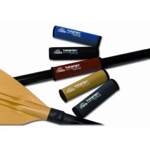 Yakgrips Kayak Paddle Grips (1 Pair), Black -