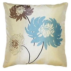 Tahiti Cushion Cover, Cream/Blue, 45 x 45 Cm