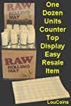 RAW Rolling Mat 8216Natural Bamboo 2 Mats for use w Rolling