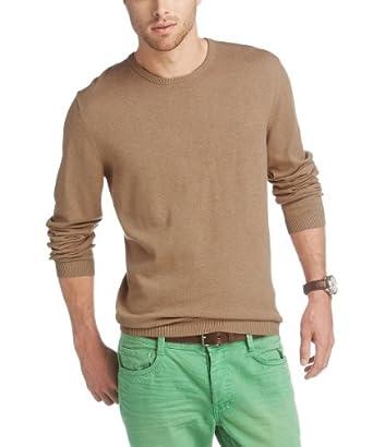 ESPRIT Herren Pullover Regular Fit 993EE2I900, Gr. 50 (L), Beige (298 camel beige melange)