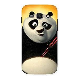 Special Kun Panda Multicolor Back Case Cover for Galaxy Ace 3