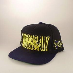 Michigan  Wolverines  AJD  NCAA  Vintage Deadstock  Snapback Hat  Cap by AJD