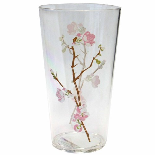 Corelle Coordinates Cherry Blossom 19-Ounce Acrylic Glass, Set of 6