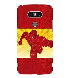EPICCASE The Flash Mobile Back Case Cover For LG G5 (Designer Case)