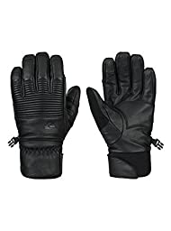 Quiksilver Snow Men\'s TR Natural Glove, Black, Large