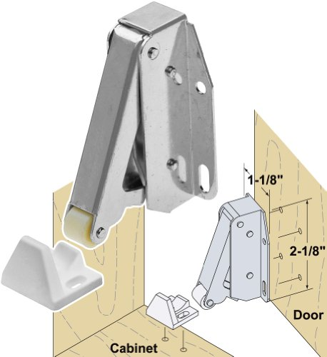 Platte River 936960, Hardware, Locks And Latches, Catches And Bolts, Quick Latch-Zinc
